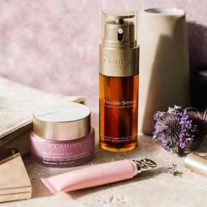 Up to 34-pc free gift with Clarins purchase @ Nordstrom