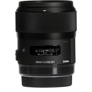 SigmaSigma 35mm f/1.4 DG HSM Art Lens Nikon F