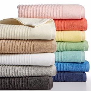 $5.99 (原价$16)Martha Stewart 快干双面大浴巾13色可选