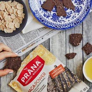 Prana62%有机黑巧克力杏仁玛卡 100g