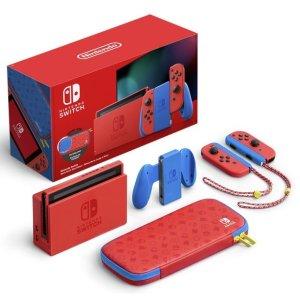Nintendo到处断货!速度收马里奥限定款红蓝机