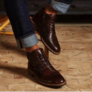 额外5折 收封面款Ecco 精选男士皮鞋、短靴闪购