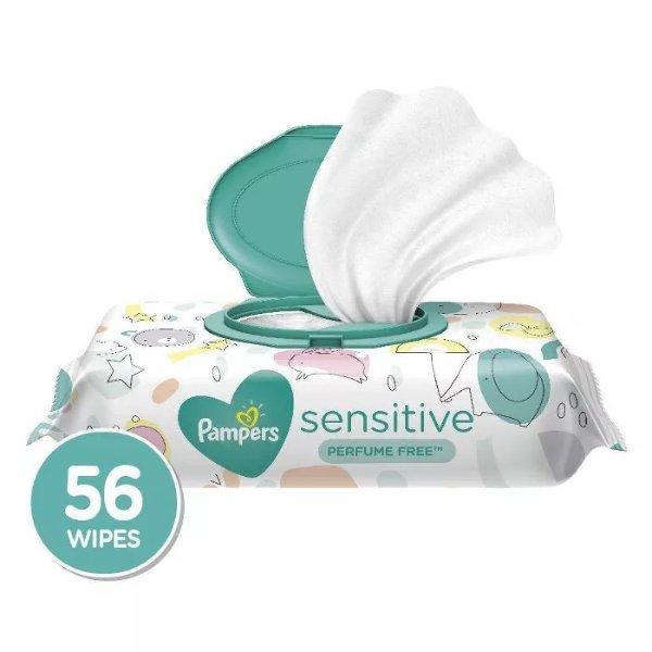 婴儿敏感肌湿巾56抽