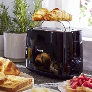 限时好价 仅售€22.66Philips HD2581/90 烤面包机 2片装 在家轻松搞定每日早餐