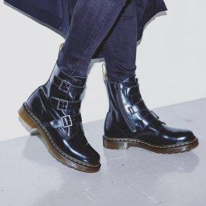 5折起 €105就收马丁靴Dr Martens 冬季大促 经典1460款、独特配色全上线