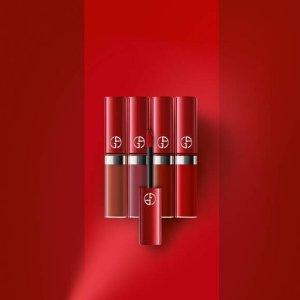 $72 含绝美色号200上新:Giorgio Armani 大热色号mini红管套装 2款可选