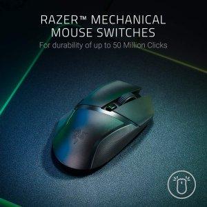 6.6折仅€45.99 超高性价比雷蛇 Razer Basilisk X HyperSpeed 无线游戏鼠标 450小时续航