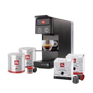IllyY3.2 iperEspresso Espresso 咖啡机+咖啡胶囊套装