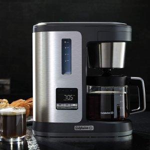 $59.99(原价$99.99)Calphalon 10杯量不锈钢咖啡机