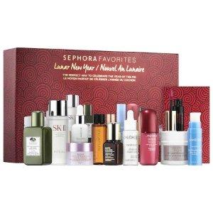 $79 (价值$230)上新:Sephora Favorites 丝芙兰精选 春节限量护肤套装