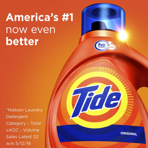 $5.28(原价$6.99)Tide 原香洗衣液1.09升装 快速分解污渍 清洁力提升 更省水