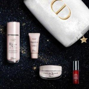 最高送12件好礼 含情人节小丝带独家:Dior 美妆护肤香氛热卖 收小A瓶套装