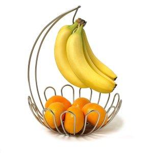 $8.69(原价$16.98)Spectrum 挂香蕉架水果篮