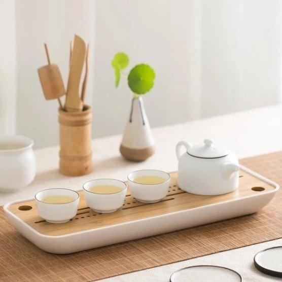 竹茶盘排水