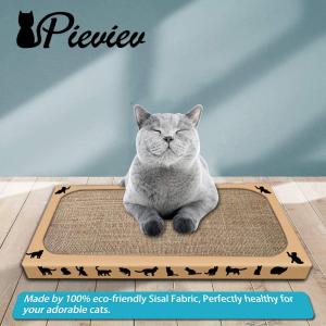 3个仅€14.44 原价€20.99Pieviev 猫抓板 100%剑麻 成分安全不掉屑  猫主子不抓沙发