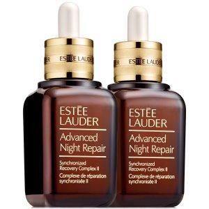 Estee Lauder价值$206小棕瓶双瓶套装