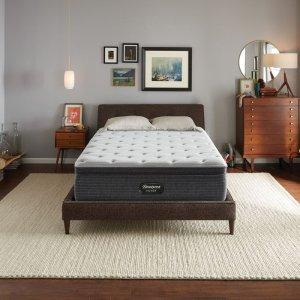 最高减$286 $519收Queen硬床垫Simmons 席梦思Beautyrest 睡美人银标一级BRS900床垫