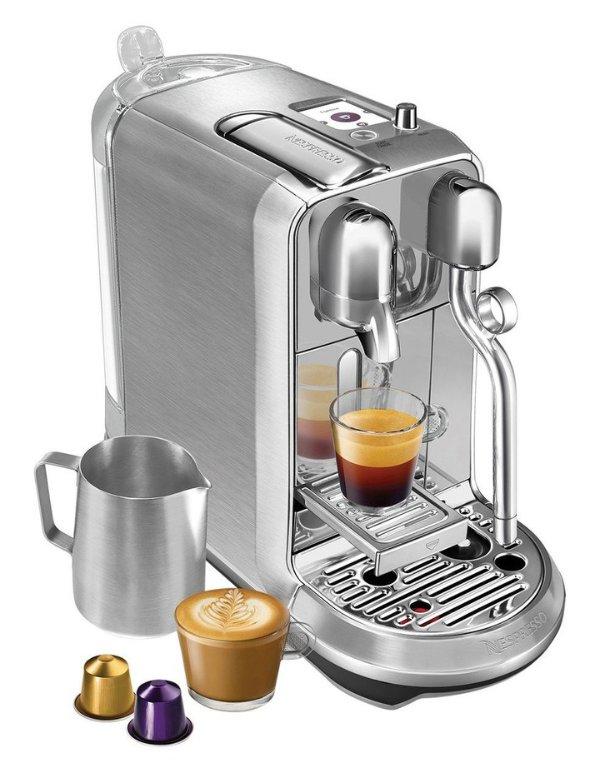 胶囊咖啡机+蒸汽奶泡机