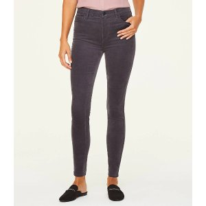 LOFT Outlet满$100减$20高腰牛仔裤