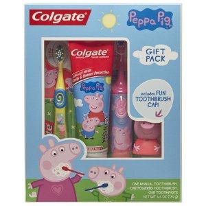 $9.88Colgate高露洁儿童电动牙刷及口腔护理套装,多种主题选