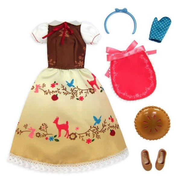Snow White 经典娃娃换装套装