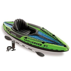 $80.12Intex Challenger K1 单人充气皮划艇