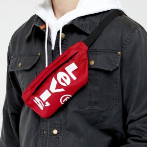 Levi's潮人必备!还有黑色可选红色logo腰包