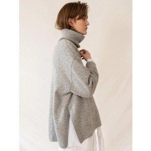 KINDERSALMON克什米尔羊绒毛衣