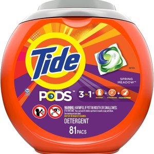 Tide PODS Spring Meadow 81 pcs