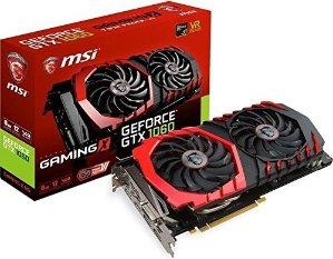 £249.99MSI NVIDIA GeForce GTX 1060 X 6 GB GDDR5 游戏显卡
