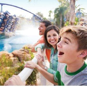 买成人票,儿童票免费,变相5折奥兰多海洋世界及水上乐园限时大促销