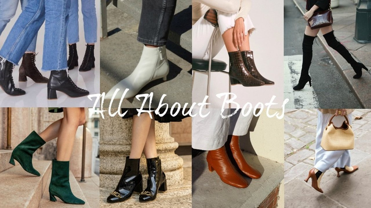 秋冬就是穿靴子的季节!20+热门靴子品牌集合:无论是流行大牌还是时髦小众,选对靴子就能修饰腿型、气场全开!
