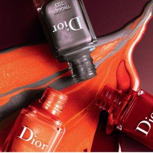 限量·Dior春夏桃花甲油系列招募众测仙女火速脱单的指尖小心机