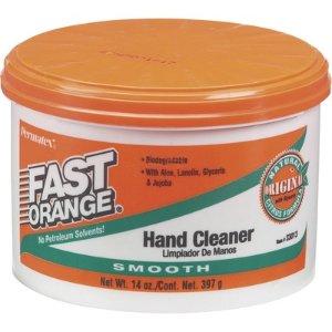Fast Orange Smooth Lotion Hand Cleaner — 14 Oz., Model#33013