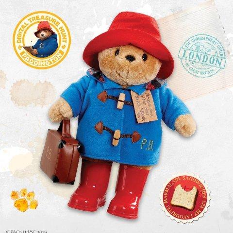 低至7折+满£60享9折Hamleys 精选帕丁顿熊宝宝热促 英国最出名小熊
