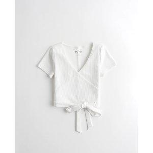 HollisterTie-Hem Wrap T-Shirt