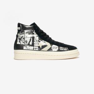 ConversePro Leather Mid x Pleasures - 165602c - Sneakersnstuff | sneakers & streetwear online since 1999