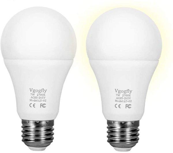 光敏灯泡2个装