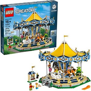 Lego旋转木马 10257 Building Kit (2670 Pieces)