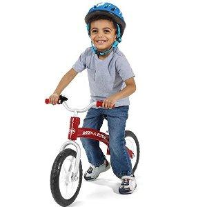 $34.94(原价$64.99)史低价:Radio Flyer Glide N Go 儿童平衡自行车 红色