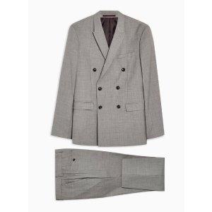 Topman灰色西装套装