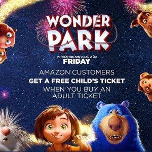 Get a Free Child's TicketAmazon Customers Wonder Park special Treat @Atom