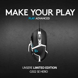 $59(原价$90)黑五好价:Logitech G502 Hero 主宰者游戏鼠标