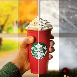 Free Reusable Cup with Purchase Holiday DrinkStarbucks Reusable Holiday Cups on the Way