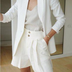 3折起+额外8.5折最后一天:Club Monaco 夏季大促 $29收印花衬衣 $58收半身裙
