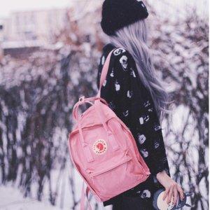 8.5折 迷你款$76.5Fjallraven 北极狐背包热卖 薰衣草紫色、蜜桃粉色都参加