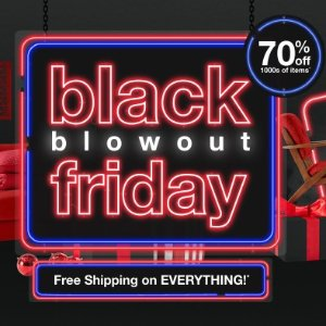 Up to 70% OffOverstock Black Friday Blowout Sale