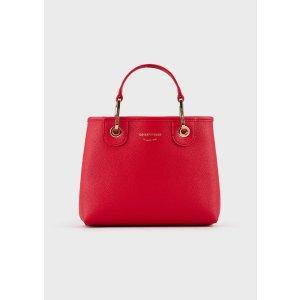 Emporio ArmaniMyEA Bag Small Shopper Bag With Deer Print for Women | Emporio Armani