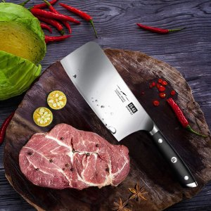 低至6.5折 €22.79起 锋利耐用Shan Zu 膳祖厨师刀具热促 中式西式全都有 德国高品质钢材