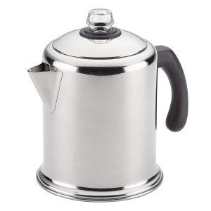 $27.99(原价$34.99)Farberware 47053 不锈钢咖啡壶